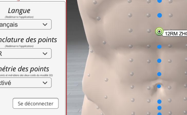 Choose your acupuncture nomenclature